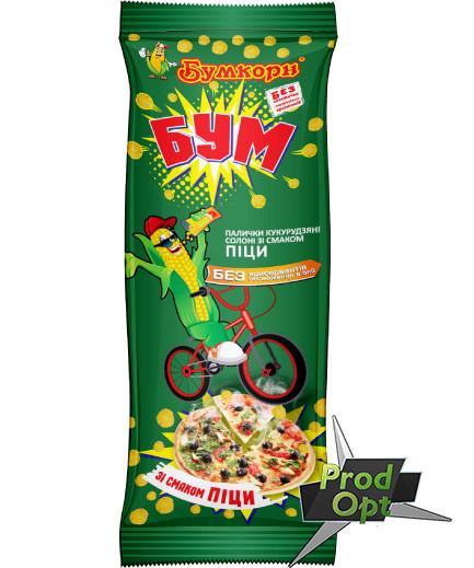 Кукуруздяні кульки БУМ піца 16г (від 16шт)