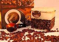 Ароматизированная Свеча Coffe Time квадрат 95х95 мм