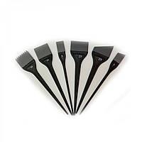 Набор силиконовых кисточек для окрашивания ID Hair 6 шт.
