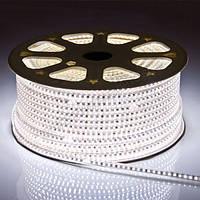 Светодиодная лента smd 2835-120 220В IP68 белая Premium