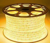 Светодиодная лента smd 2835-120 220В IP68 теплая Premium