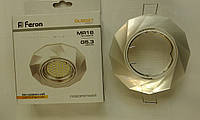 Встраиваемый светильник Feron DL6021 (перламутровый белый)