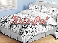 Комплект постельного белья ТМ KRIS-POL (Украина) Бязь голд двуспальный 5131