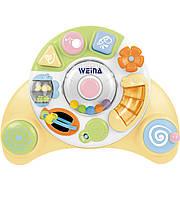 Развивающие и обучающие игрушки «Weina» (2100) музыкальный игровой центр Карусель