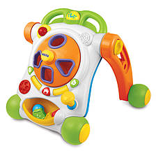 Развивающие и обучающие игрушки «Weina» (2122) ходунки-каталка Делюкс (звук. эффекты)