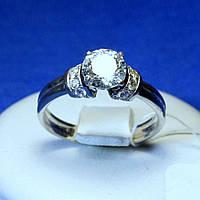 Кольцо для предложения из серебра кс 389, фото 1