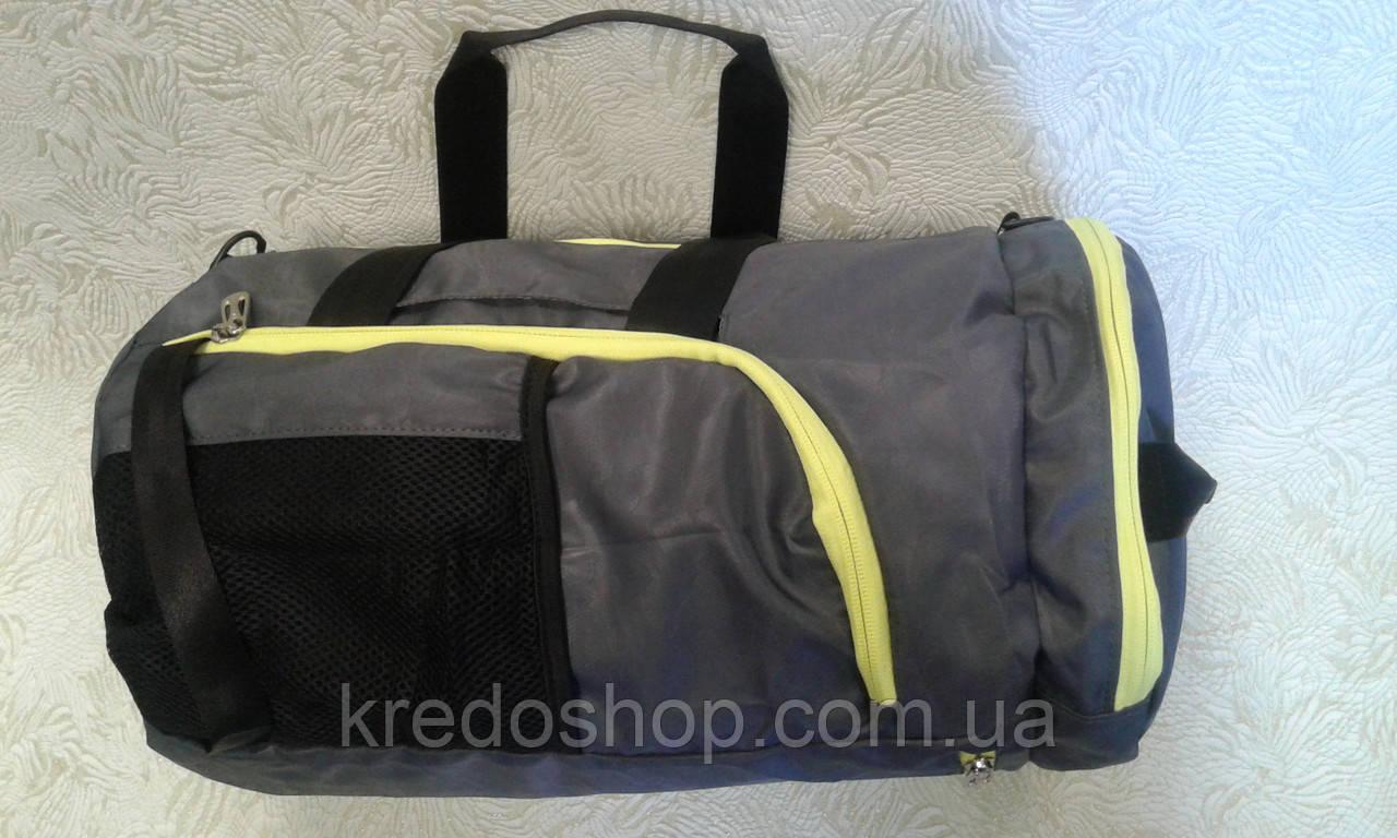 5166a48c Сумка-рюкзак спортивная из прочной легкой ткани (Турция) - Интернет-магазин  сумок