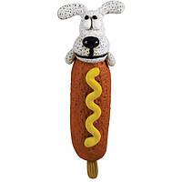 """Игрушка с пищалкой для собак """"Корн дог"""" Petstages Lil Corn Dog (петстэйдж )  арт. 639"""