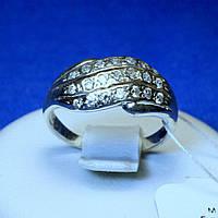 Срібне кільце Ретро з цирконієм кс 473
