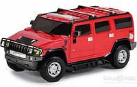 Автомодель - Hummer H2 GearMaxx (1:26, свет, звук, инерционная) красная