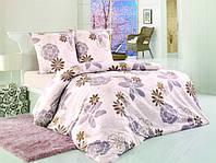 Комплект постельного белья First choice Alize Kahve-1 Двуспальный Евро