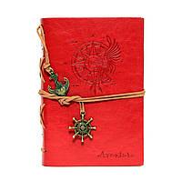 Блокнот Ежедневник с закладкой, крафт листы Авентура