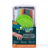 Набор аксессуаров для 3D-ручки - ЮВЕЛИР 48 стержней, 2 шаблона 3Doodler Start