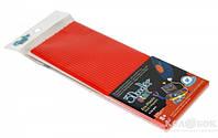 Набор стержней для 3D-ручки 24 шт 3Doodler Start красный