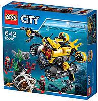 LEGO 60092 City - Глибоководна підводний човен  (Лего Сити ) Глубоководная подводная лодка