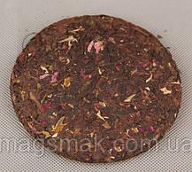 """Чай ПУЭР  """"чайная роза"""", 100 г, 2012 год, фото 3"""