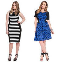 Женские платья больших размеров лето-весна