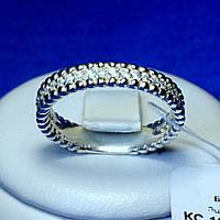 Кольцо из серебра с фианитом Дорожка кс 1267
