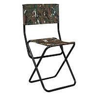 """Складной стул со спинкой Time Eco """"Рыбацкий"""""""