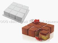 Форма для десертов Cubik Ø172*172 H50 - 1400 мл SILIKOMART