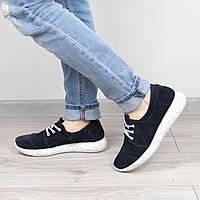 Кроссовки женские Nika синие размер 40 , спортивная обувь