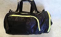 Сумка-рюкзак черная спортивная из прочной легкой ткани (Турция)