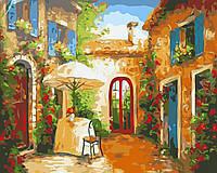 Раскраска по номерам BABYLON Уютный дворик  (SW033)