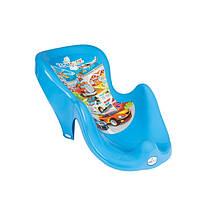 Горка для купания Tega Cars CS-003 синяя