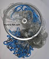Кастинговая сеть Американка 4м в диаметре парашют лесочный ячейка 12 мм