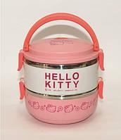 Ланч-бокс Hello Kitty подвійний 1,4 л, артикул Т83