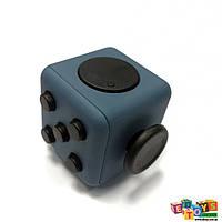 Фиджет Куб Fidget-Cube (антистресс) синий/черный
