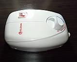 Проточный водонагреватель Eldom Betta 6,5 kw (3+3,5) душ+кран 72486C (комбинированный), фото 4