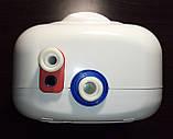 Проточный водонагреватель Eldom Betta 6,5 kw (3+3,5) душ+кран 72486C (комбинированный), фото 6