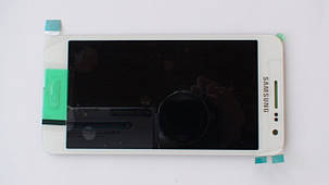 Дисплей с сенсором Samsung A300 Galaxy A3 White оригинал, GH97-16747A, фото 2