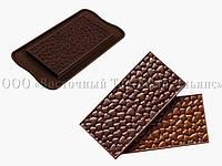 Силиконовый текстурный коврик Love Choco Bar SILIKOMART