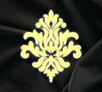 Объемный декор Дамасский орнамент