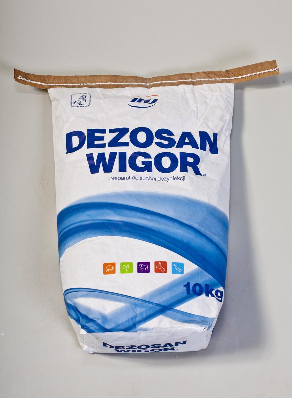 Дезосан Вигор 10 кг ветеринарный препарат для сухой дезинфекции и борьбы с мухами