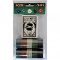 Покерный набор 80 P+B