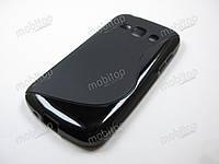 Полимерный TPU чехол Samsung Galaxy Ace 3 S7272 (черный)
