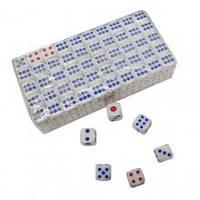 Кубики игральные 12н (100 шт.) 12 мм