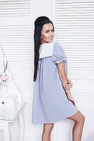 Платье женское короткое шифоновое свободного кроя (К9581)