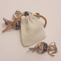 Мешочки саше с оранжевой завязкой (7х9)