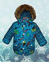 "Зимняя куртка на мальчика ""Монстрик"""
