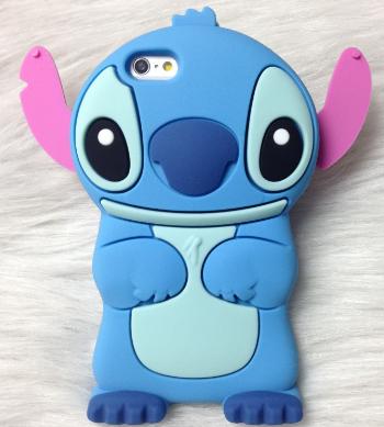 Чехол силиконовый Stitch для iPhone 6 6s