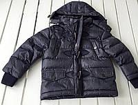 Детская зимняя куртка для мальчика на 4 - 5 лет