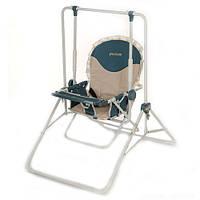 Качель стульчик трансформер Bambi 2в1 Бежевый
