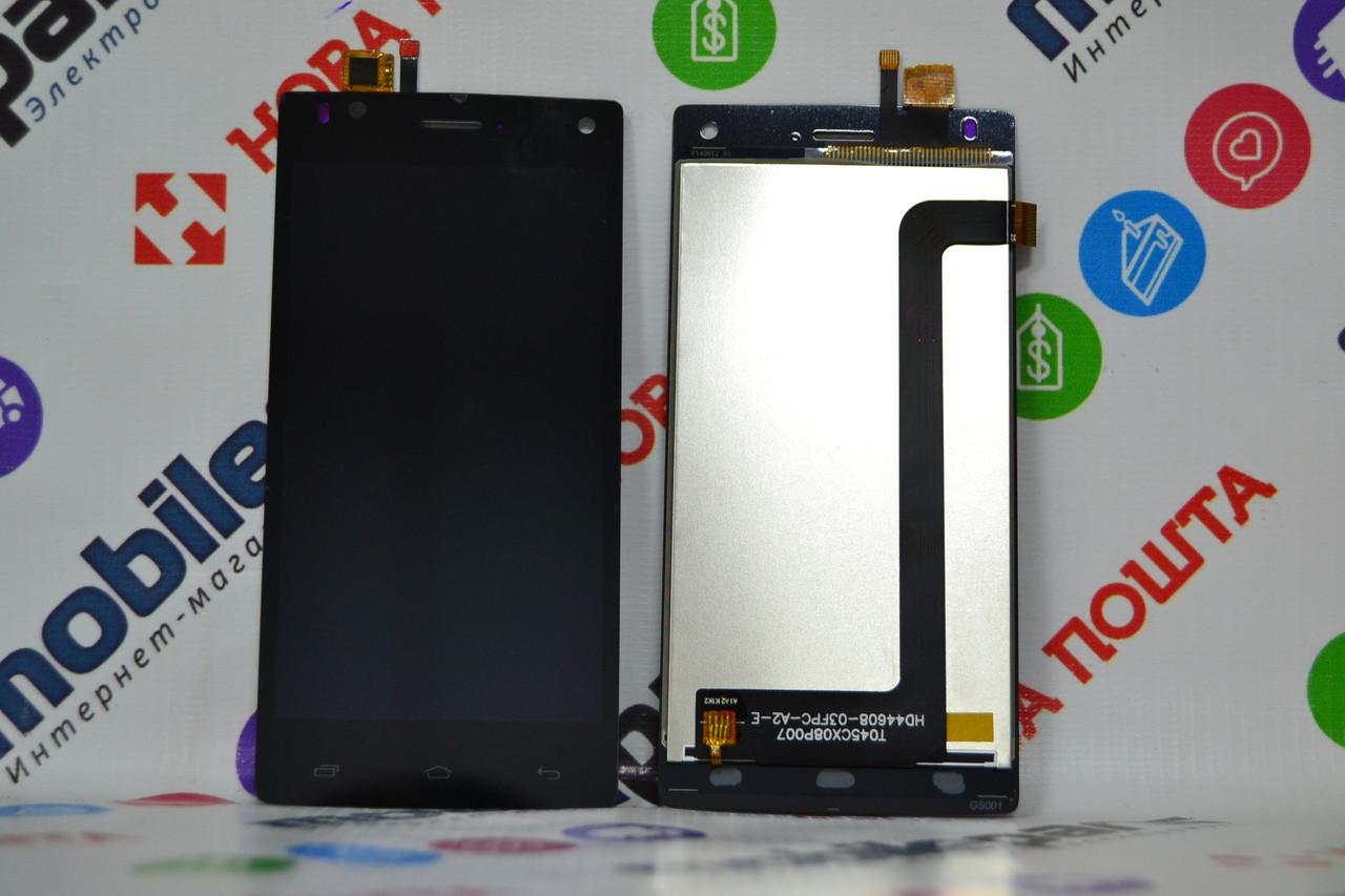 Дисплей для Fly FS452 с сенсорным стеклом  (Черный) Оригинал Китай