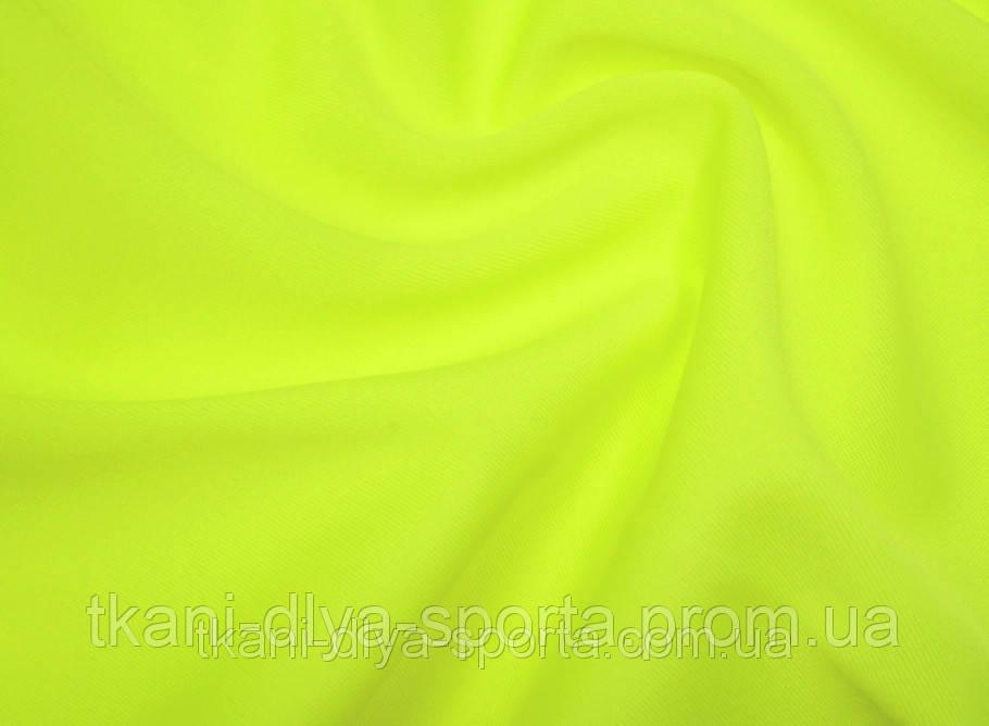 Бифлекс матовый ярко-лимонный fluo