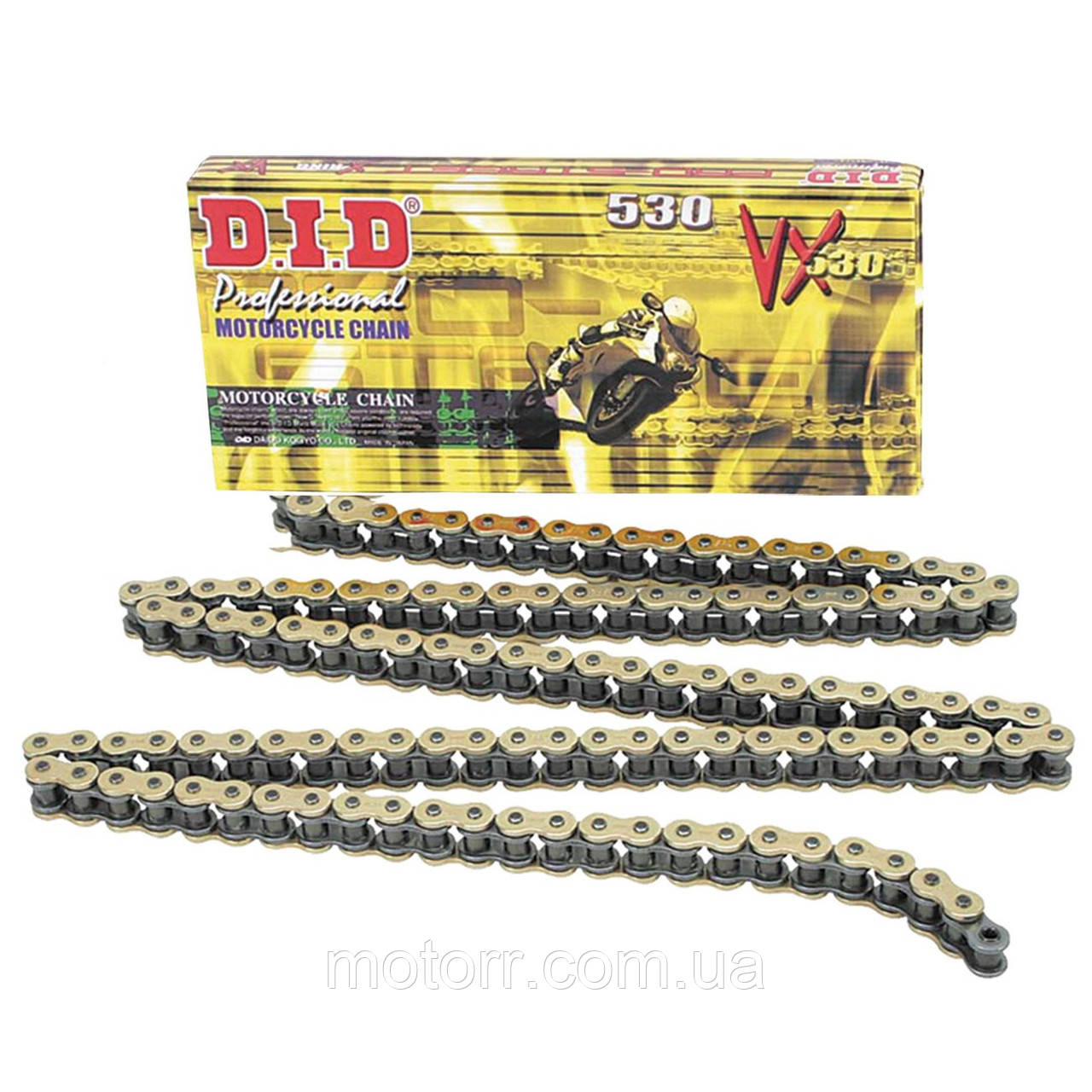 Приводная цепь DID 530VX - 118GB