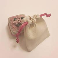 Мешочки саше с розовой завязкой (7х9)